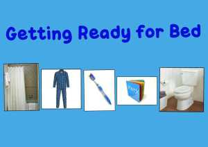 PicCollage Bedtime Picture Schedule