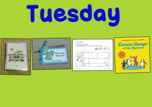 PicCollage Picture Schedule